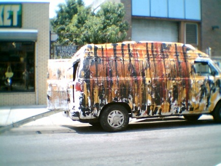 Williamsburg - housepainting van