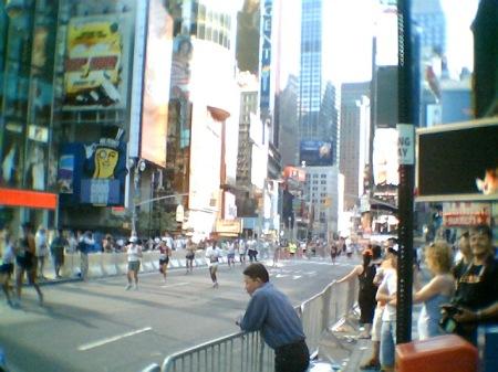 Times Square half-marathon1