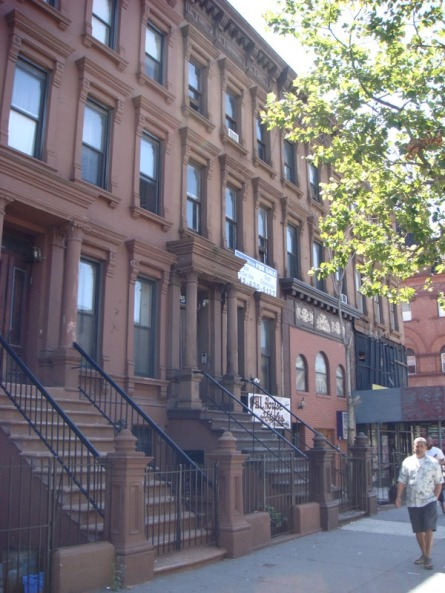 Harlem brownstone