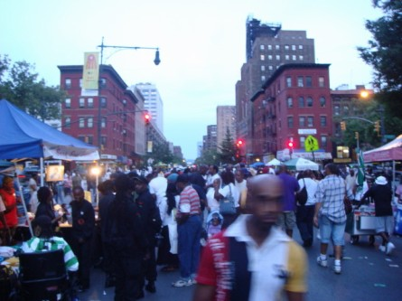 Harlem Street Party - Black Panthers