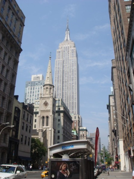 Empire State Building and Collegiate Church