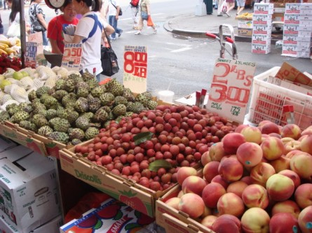 Chinatown - Lychees and Loganberries