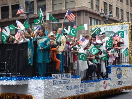 Pakistan Day Parade - floats 1