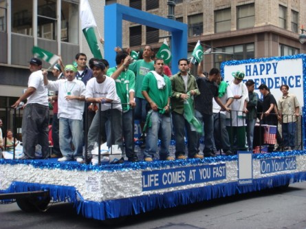 Pakistan Day Parade - float 05