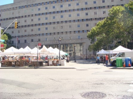 Brooklyn Heights - Borough Hall famers market