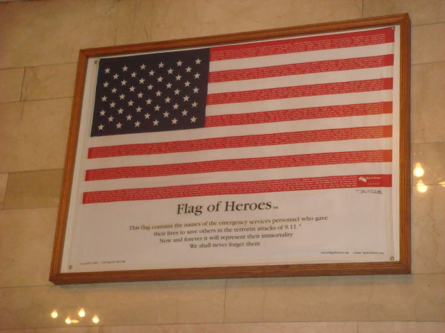 Flag Of Heroes In Grand Central Famous Ankles